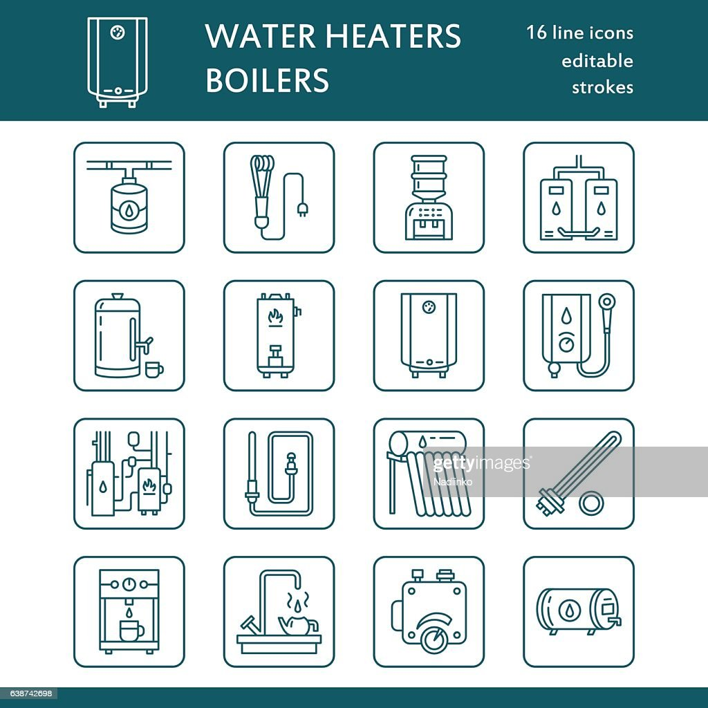 Water Heater Boiler Thermostat Electric Gas Solar Heaters And Other ...