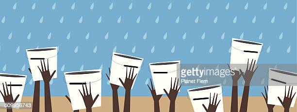 water is life - dehydration stock illustrations, clip art, cartoons, & icons