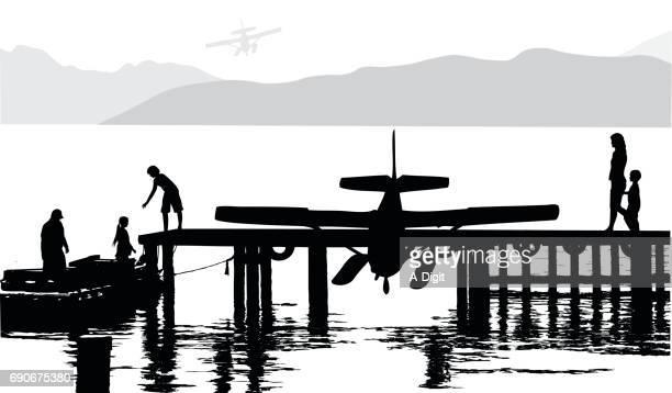 Water Plane Dock