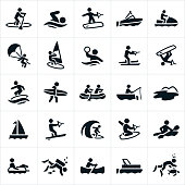 Water Recreation Icons