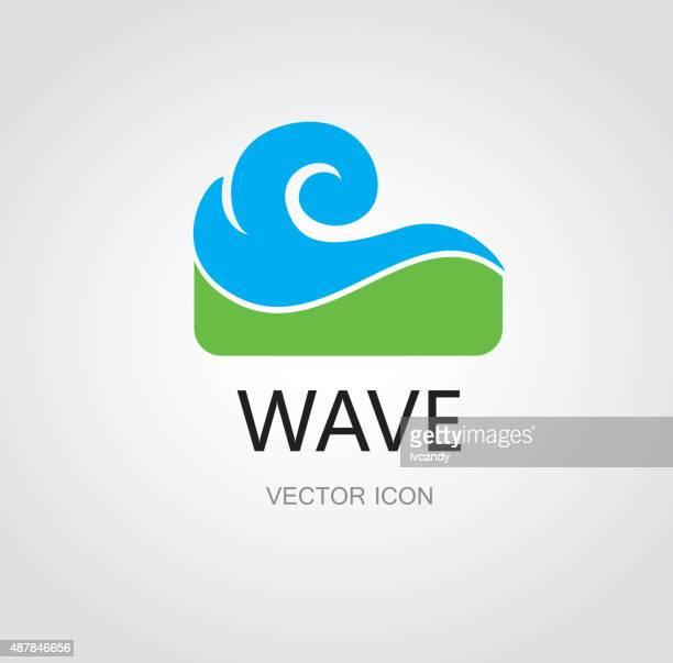 Water wave symbol