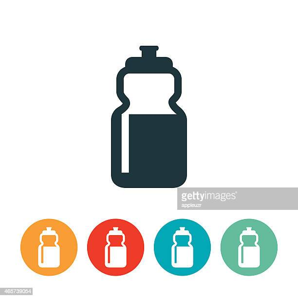 waterbottle icon - water bottle stock illustrations, clip art, cartoons, & icons