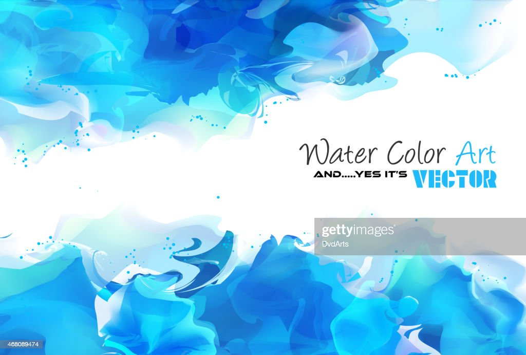 Watercolor Background and yes... it's vector!