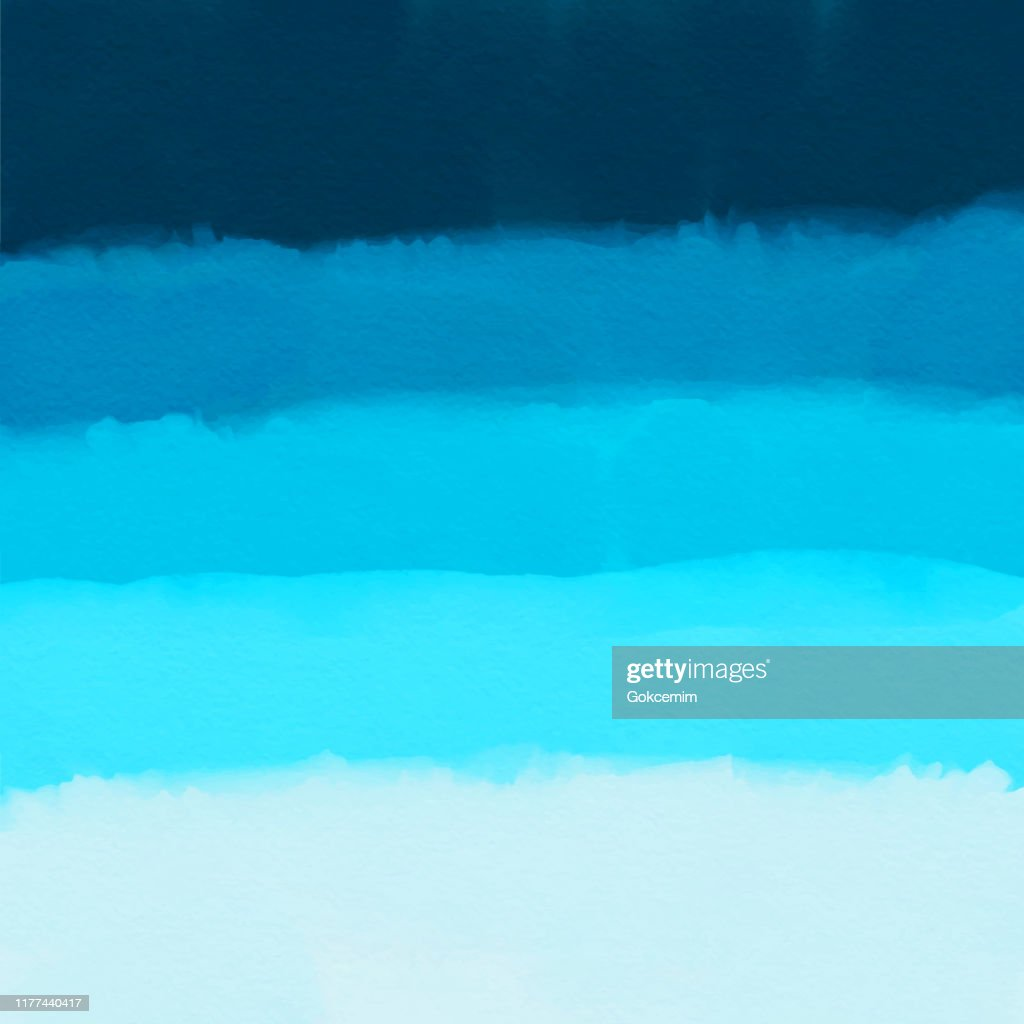 Watercolor Blue Gradient Abstract Background Design Element For Marketing Advertising And Presentation Can Be Used As Wallpaper Web Page Background Web Banners High Res Vector Graphic Getty Images