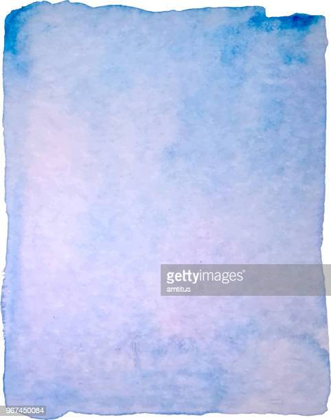 watercolor blue patch - watercolor background stock illustrations