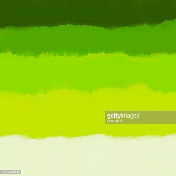 aquarell grün farbverlauf abstrakte hintergrund. designelement für marketing, werbung und präsentation. kann als hintergrundbild, webseitenhintergrund, webbanner verwendet werden. - wasserfarbe auf papier stock-grafiken, -clipart, -cartoons und -symbole