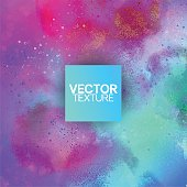 Watercolor Pastel Color Vector Background