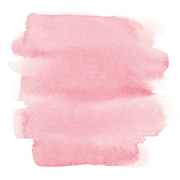 watercolor pink background - pink stock illustrations