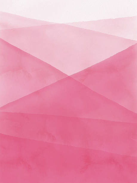 watercolor pink gradient abstract background. - pink stock illustrations