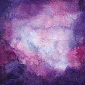 Watercolor Purple Ombre Background