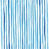 Watercolor stripes pattern