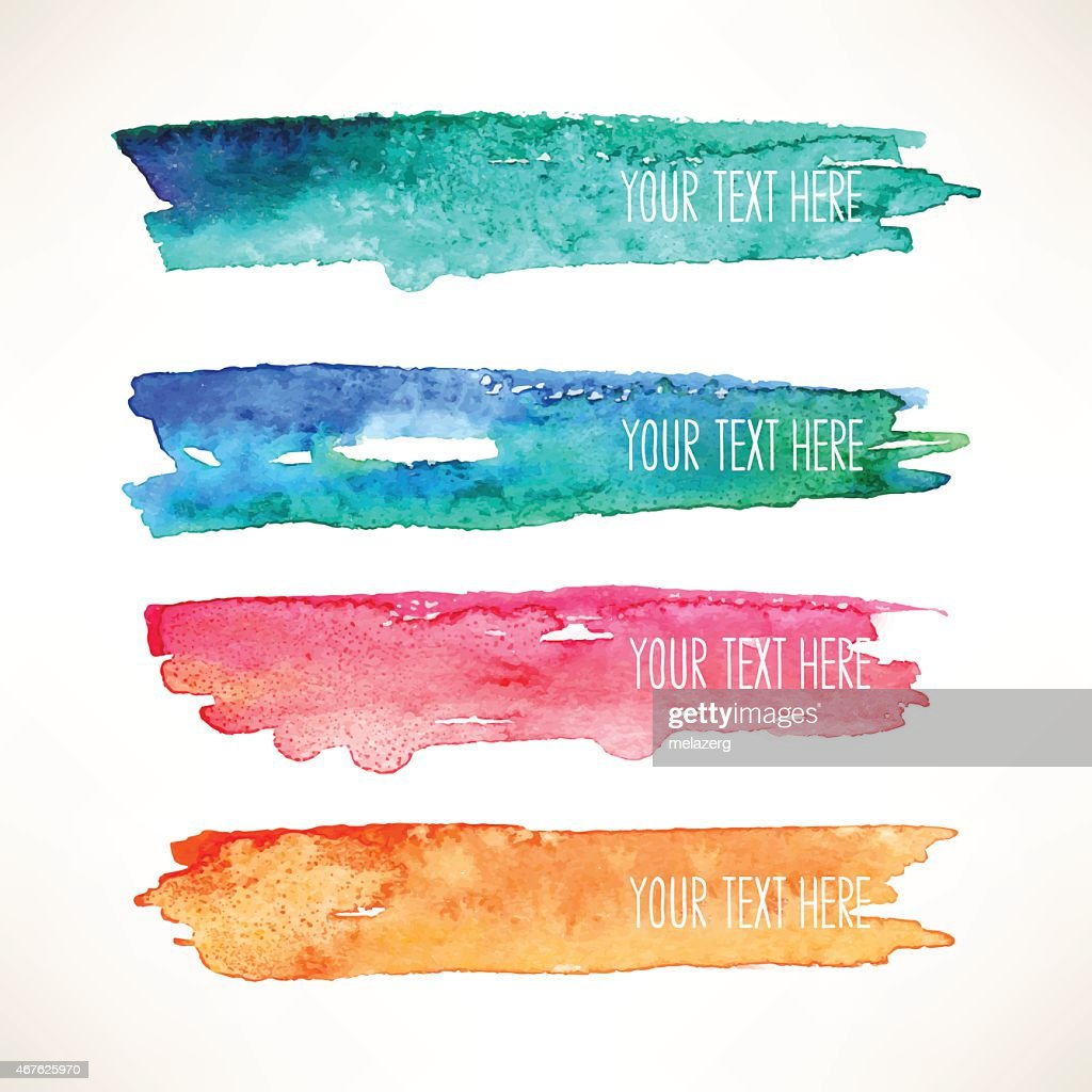 watercolor stroke backgrounds