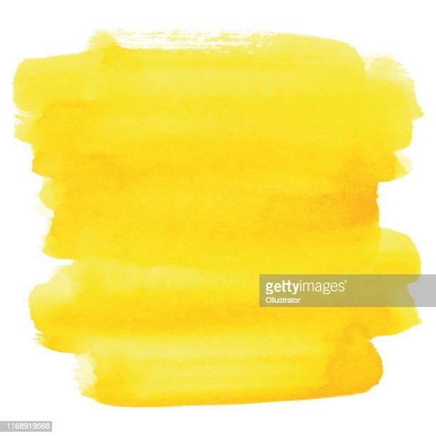 aquarell gelb hintergrund - gelb stock-grafiken, -clipart, -cartoons und -symbole