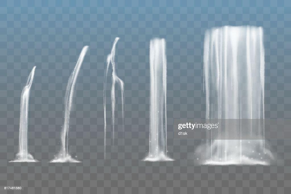 Waterfall set
