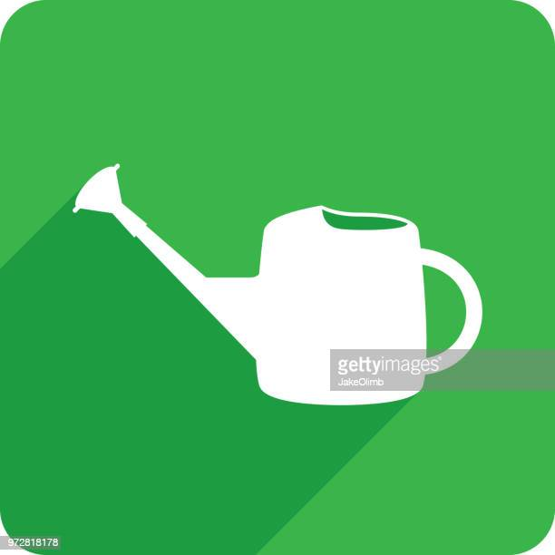 Watering Can Icon Silhouette