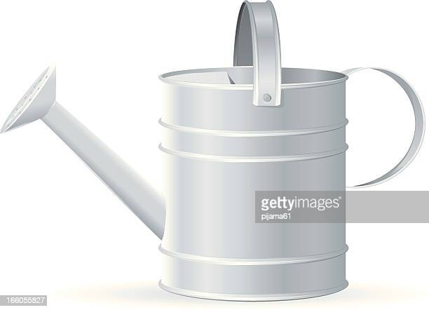 watering can - watering can stock illustrations, clip art, cartoons, & icons
