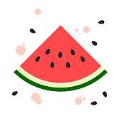 Watermelon flat design