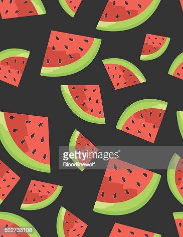 Watermelon Seamless Background pattern