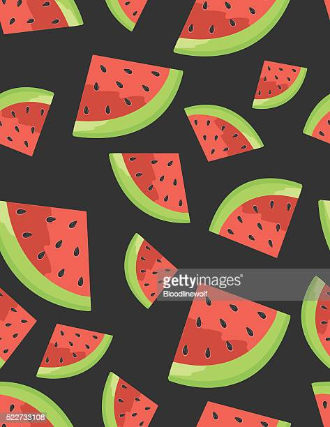 Watermelon Seamless Background pattern