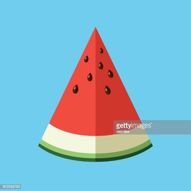 Watermelon sliced