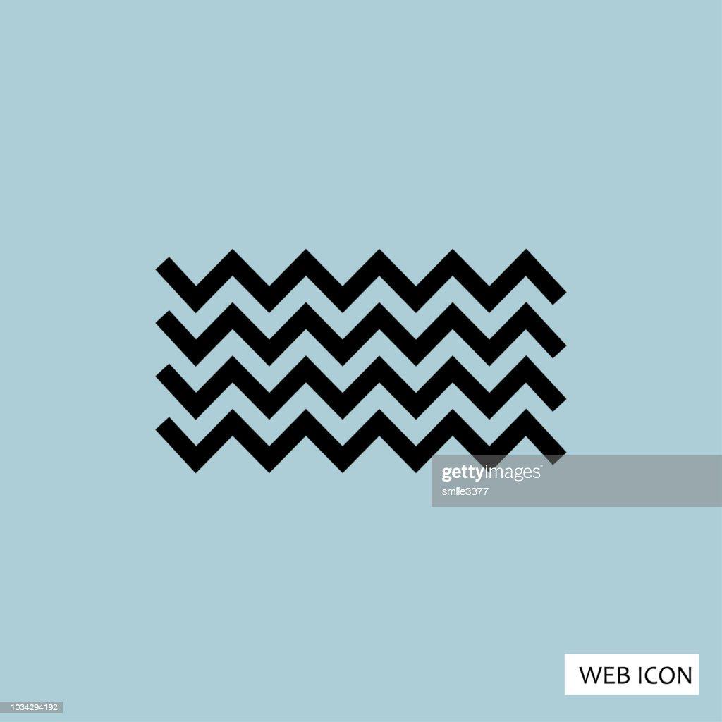 Wave Icon, Eps10, Vector, Eps, Jpg, , Flat, App, Web, Art