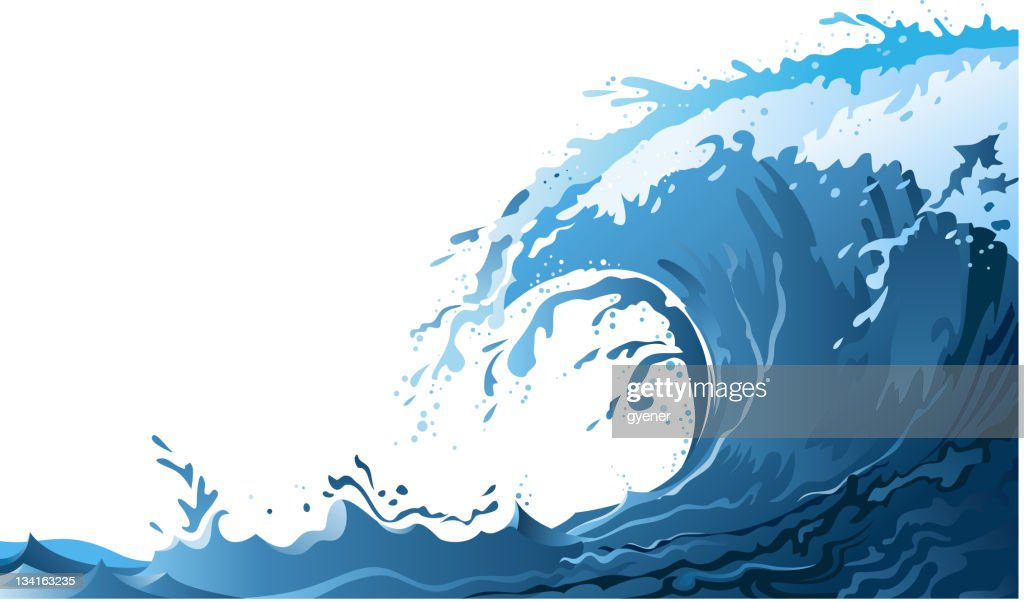 wave illustrations