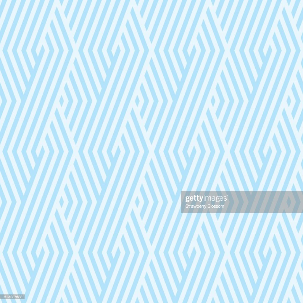 Wave Pattern stripe seamless sweet blue two tone colors. Pattern stripe chevron abstract background vector.