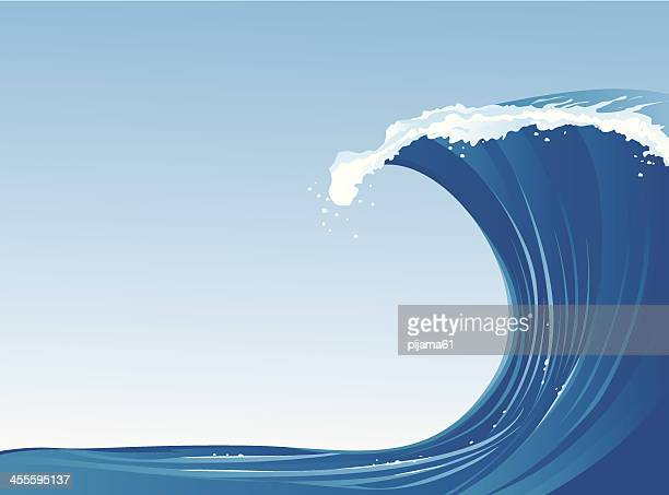 Tsunami Vector Art And Graphics | Getty Images