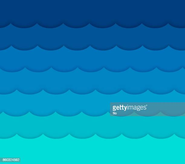 waves background - standing water stock illustrations