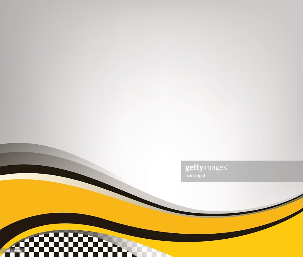 Waving checkered flag grey background