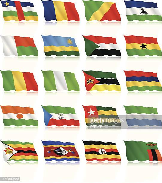 Waving Flag Collection - Africa