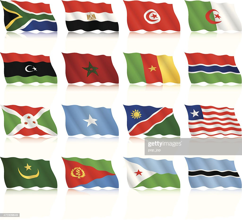 Waving Flags Collection - Africa