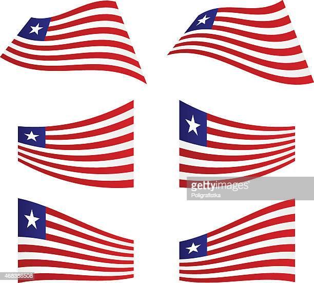60 Top Liberian Flag Stock Illustrations, Clip art, Cartoons