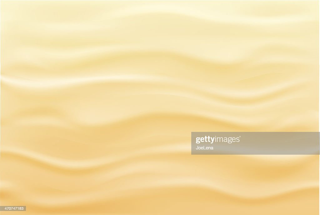 Wavy, beach, sand background in tan