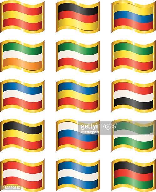 wavy flags - ghana stock illustrations, clip art, cartoons, & icons