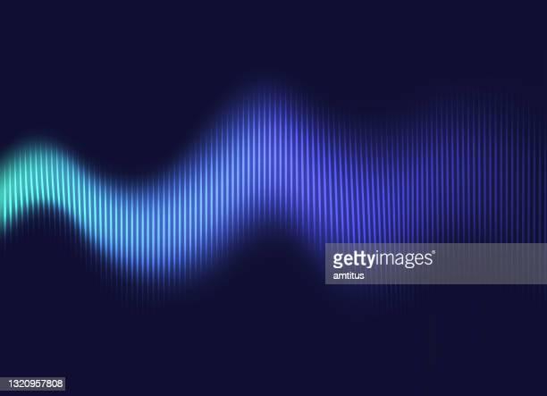 illustrazioni stock, clip art, cartoni animati e icone di tendenza di vibrazione ondulata - gol di pareggio