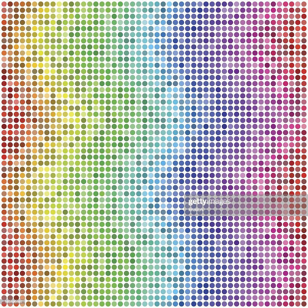 Wavy Waves: Retro Vector Dots #2