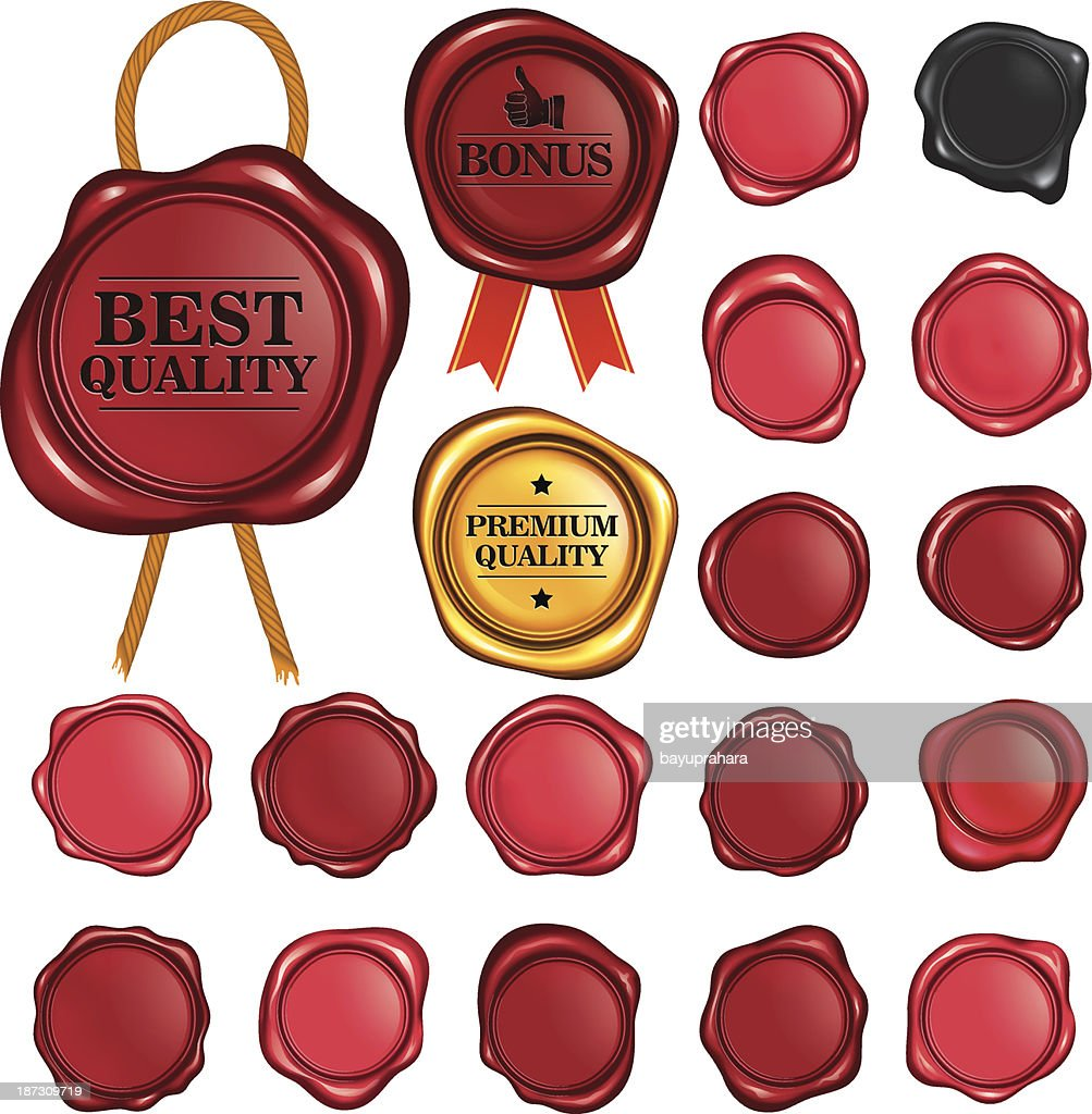 Wax Stamp Set