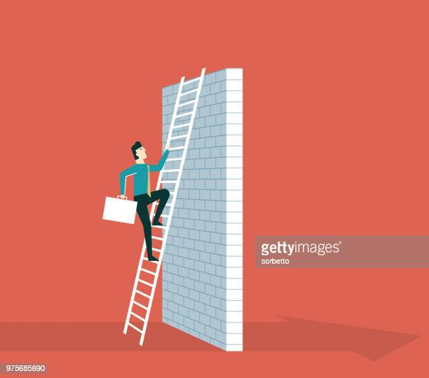 Way to success - businessman