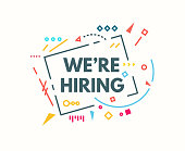 We are hiring banner