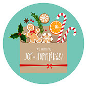We wish you joy and happiness