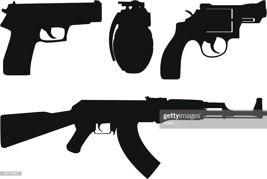 Arma : Ilustración de stock