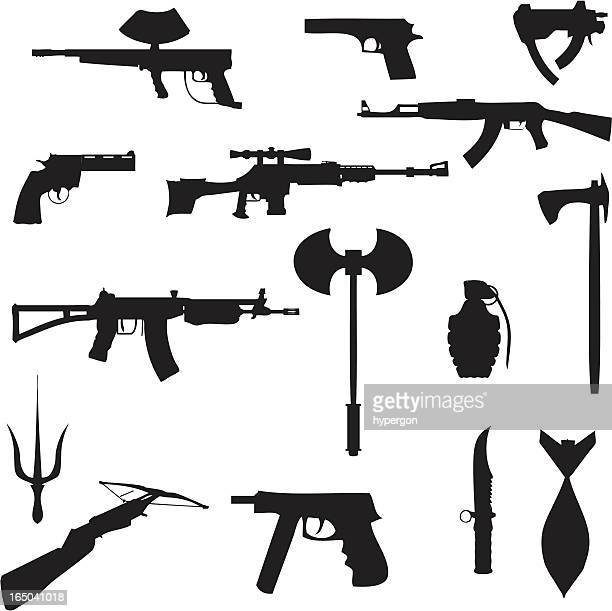 Weapons collection (vector+jpg)