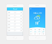 Weather Application User Interface Concept