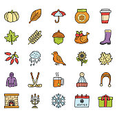 Weather, Foods and Holiday Icons
