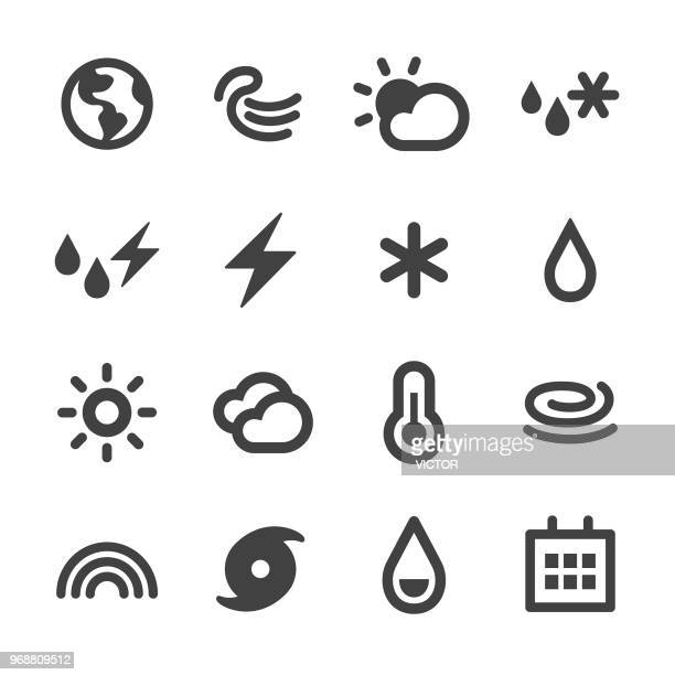 weather icon - minimal series - humidity stock illustrations, clip art, cartoons, & icons