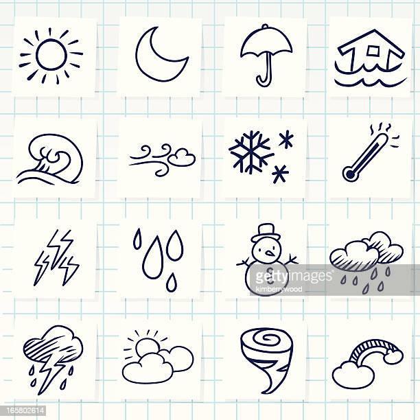 weather icon - hailstone stock illustrations, clip art, cartoons, & icons