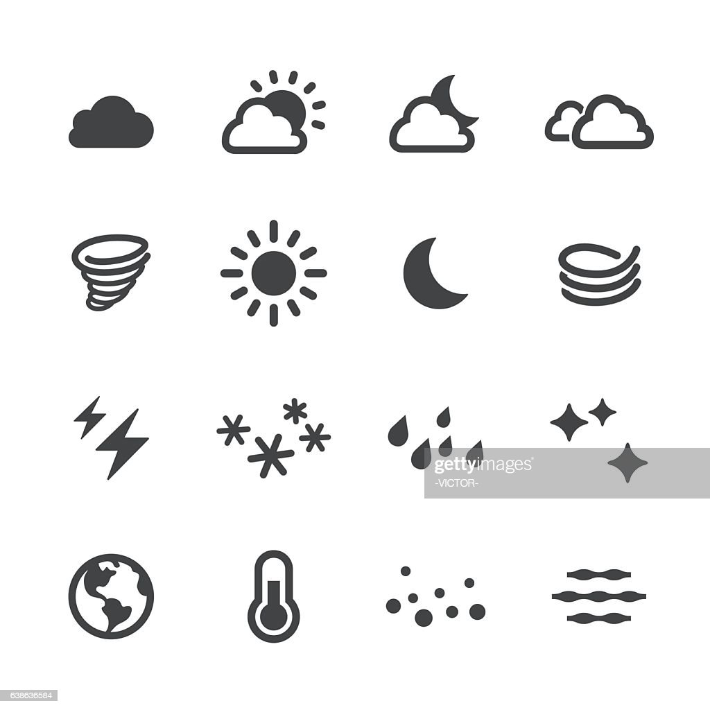 Weather Icons - Acme Series