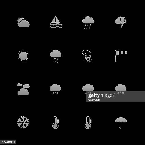 weather icons : android series - hailstone stock illustrations, clip art, cartoons, & icons