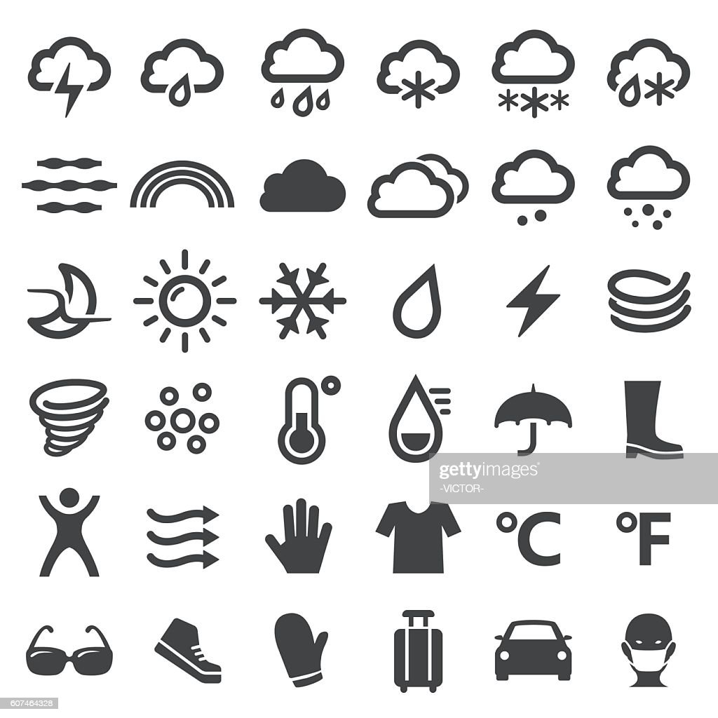 Weather Icons - Big Series